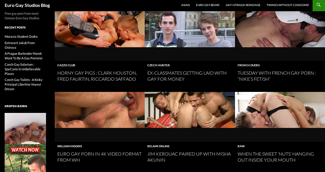 Porno gay rss feeds
